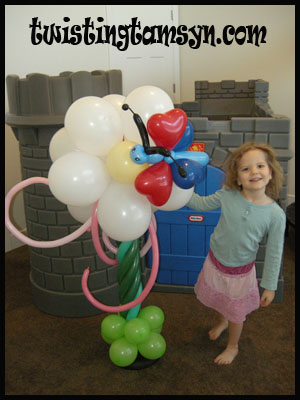 Balloon Giant Flower
