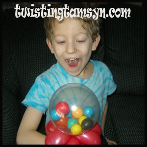 Gumball balloon- design by John Justice