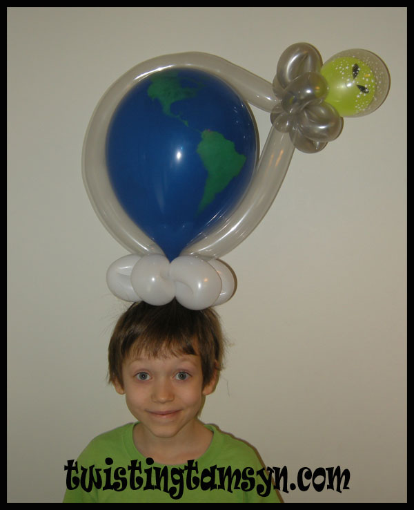 Out of this world balloon hat